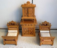 Alte Puppenmöbel von 1910 - 20  | eBay