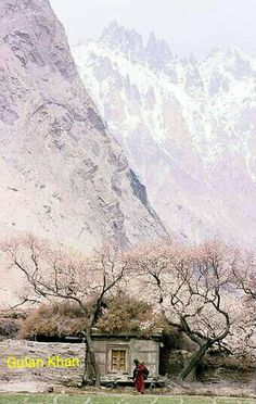 Great view of Hunza valley Gilgit Baltistan Pakistan