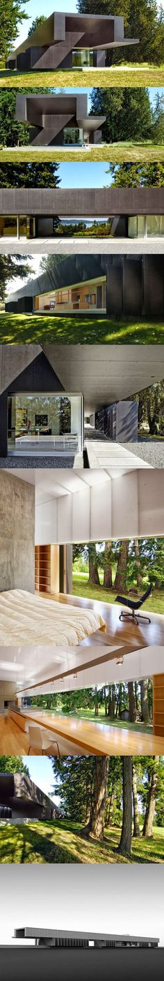 Linear House by Patkau Arquitects