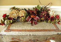 Swag Flowers Roses Hydrangea