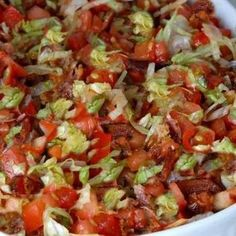 BLT Dip Recipe  CANNOT WAIT to try this!!