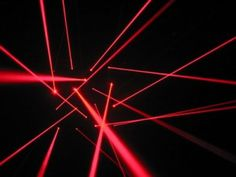 Lasers and Fog party