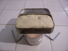 Altoids Tin Bread Bake (Survival Bread) c. self rising flour. drizzle of… Survival Food, Survival Prepping, Survival Supplies, Emergency Preparedness, Survival Stuff, Survival Shelter, Camping Survival, Outdoor Survival, Survival Knife