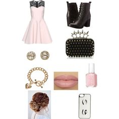 Untitled #13 by veggieranch on Polyvore featuring polyvore, fashion, style, Chicnova Fashion, Steve Madden, Juicy Couture, EF Collection, Kate Spade and Essie