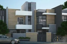 Multi Story Building, Asia, Behance, Houses, Exterior, House Design, Architecture, Ideas, Modern Architecture