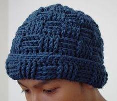 Free Crochet Pattern : Crochet Hat for Men