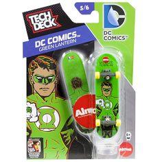 Tech Deck DC Comics Green Lantern Fingerboard 96mm