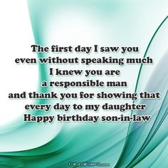 Happy birthday to my sweet son in law clint conner hope you a happy birthday to my cool son in law m4hsunfo