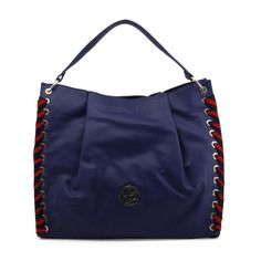 Shop blu byblos blue shoulder bag at Fashiontage. Give your online shopping a new twist with stylish women's bags/shoulder bags from Fashiontage. Blue Shoulder Bags, White Pumps, Clothing Deals, Marine Blue, Versace Jeans, Black Sneakers, Luxury Bags, Latest Fashion Trends, Pumps Heels