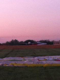 Bowman field hot air balloon launch