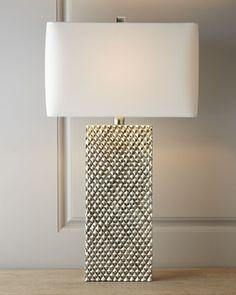 Regina-Andrew Design Platinum Stud Lamp