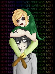 Jeff The Killer and Ben Drowned by NekoXemi on deviantART