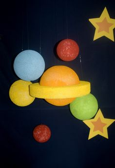 Decorations at a Space Party #spaceparty #decor