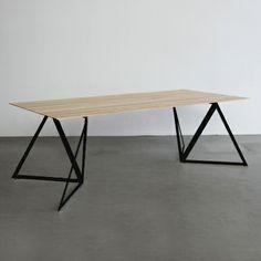 Steel Table Legs - Black - alt_image_three - Sebastian Scherer