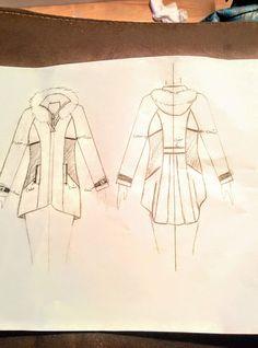Dessin 1er manteaux