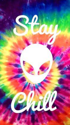 Trippy Tie Dye Tumblr | rainbow hippie hipster Grunge chill stay tye dye backgrounds alien tie ...