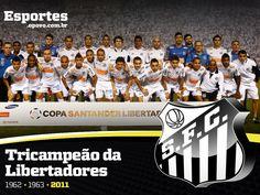 Santos FC - Tricampeão da Libertadores da América