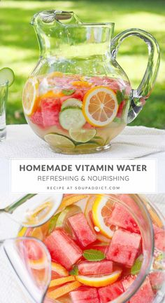 Infused Water Recipes, Fruit Infused Water, Infused Waters, Flavored Waters, Fruit Water Recipes, Water With Fruit, Water Infusion Recipes, Detox Fruit Water, Juice Smoothie