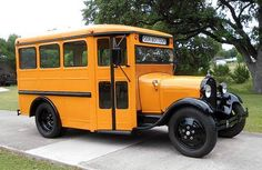 1929 Ford Model AA School Bus Flathead Straight/Inline 4 Cylinder:35-40 HP 3 Speed Sliding Gear Manual Transmission Top Speed:60 MPH