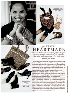Julie Fagerholt and the new AW15 shoe collection in ELLE November 2015