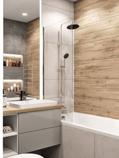 51 Ideas bathroom shower remodel diy living rooms for 2019 Bathroom Design Small, Bathroom Interior Design, Modern Bathroom, Bad Inspiration, Bathroom Inspiration, Interior Design Living Room Warm, Tub To Shower Remodel, Yellow Bathrooms, Small Bathrooms