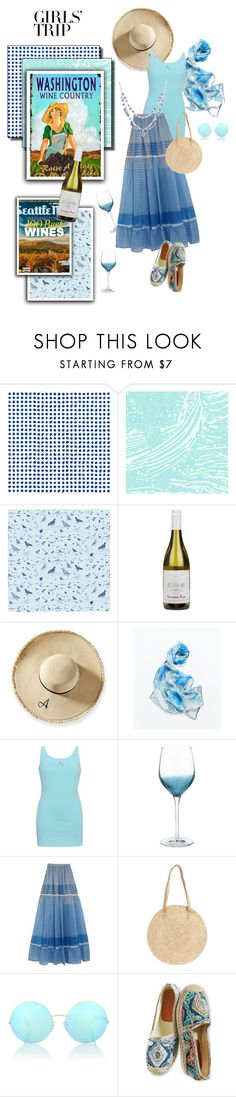 """Washington Wine Country Weekend"" by metter1 ❤ liked on Polyvore featuring Paola Navone, Aimée Wilder, Timorous Beasties, Mark & Graham, BKE core, Pier 1 Imports, STELLA McCARTNEY, BP., Victoria Beckham and Nine West"