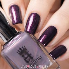 Swatch of A-England Hurt No Living Thing Top Coat (Heavenly Quotes Collection)