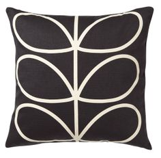 Orla Kiely cushion - slate blue