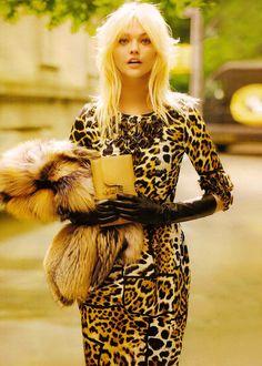 Vogue, Sasha Pivovarova.