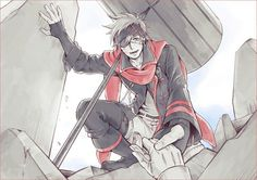 D.Gray-man Lavi Bookman