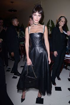 Bella Hadid - at Bella Hadid and Dior Beauty Celebrate The Art of Color