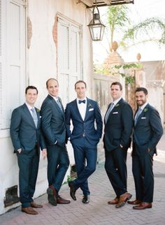 Handsome grooms: http://www.stylemepretty.com/2015/04/01/romantic-new-orleans-wedding-filled-with-old-world-charm/ | Photography: Megan W - http://www.megan-w.com/