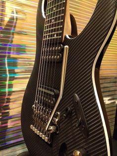 Carbon Fiber custom guitar