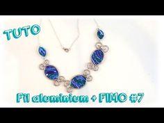 { Tuto } Bijoux fil aluminium et FIMO # 5 - YouTube