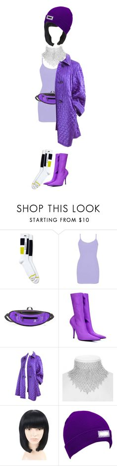 """""""Untitled #169"""" by fuuuh ❤ liked on Polyvore featuring Lacoste, BKE, Balenciaga, Valentino and Jon Richard"""