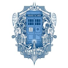 Doctor Who T4RD1S T-Shirt, the design would look great as a tattoo