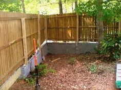 Retaining Wall Fence On Top Design Hamilton Timber