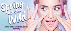 Nouveau Cheap: Wet n Wild Spring 2016 Limited Edition Spring Into the Wild Collection Now Available Online