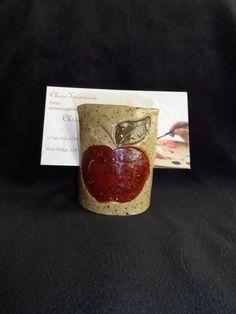 spongeholder stoneware clay pottery $5 pl ship.
