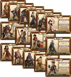 Black Plague Survivors as Massive Darkness Heroes.