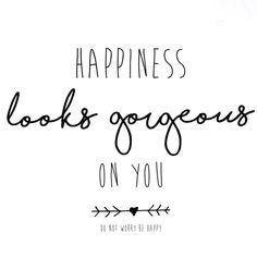 happiness looks good on you Shopping Social Media Marketing $99 Dollars www.SocialMediaFor99Dollars.com