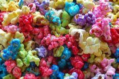 Popcorn zuccherati e colorati | Feste per bambini