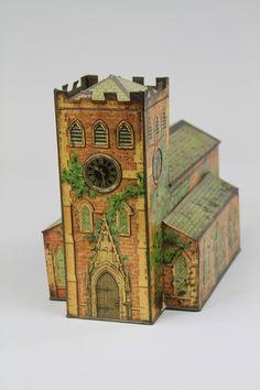 Victory V 'Church' gum/lozenges tin   c1910
