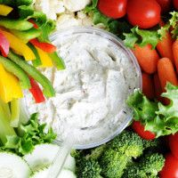 Artichoke Dip with Raw Veggies, wow it's only blended marinated artichoke hearts. A must try Cheryl Matchett Artichoke Dip with Raw Veggies, wow it's only blended marinated artichoke hearts.