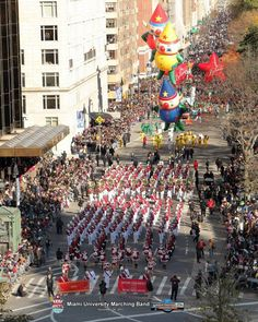 Miami University Marching Band performing at the Macy's Day Parade (Nov. 24, 2011)
