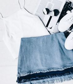 Cute casual outfit for summer.