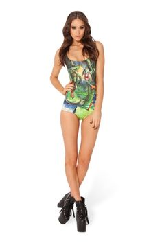 Green Flying Dragon & Fighter Print One Piece Monokini Swimwear Monokini Swimsuits, Cute Swimsuits, Swimwear, Black Swimsuit, Dragon Fighter, Bikini 2014, Beautiful Outfits, Cool Outfits