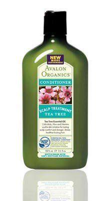 Avalon Organics Scalp Treatment Tea Tree Conditioner, 11 Ounce $12.72 (save $7.27)
