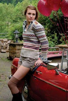 Kim Hargreaves Thrown Together Knitting Patterns   Rowan English Yarns Online Store