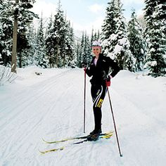 Future olympian, Sadie Bjornsen! Cross country skiing, Methow, WA